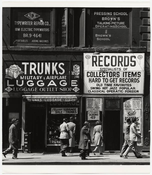 Sixth Avenue between 43rd and 44th Streets, New York