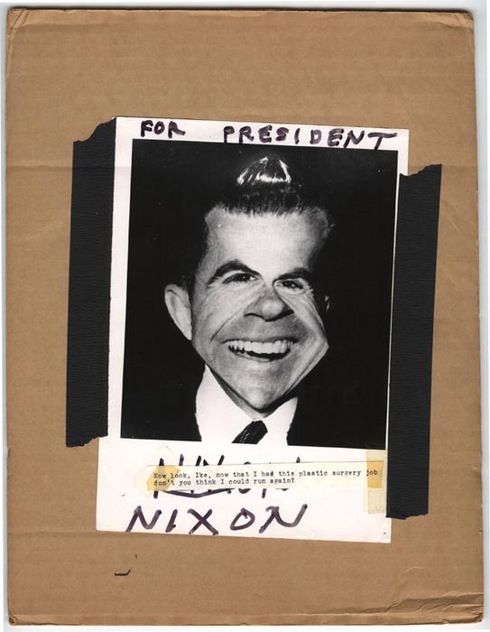 Richard Milhous Nixon (distortion)