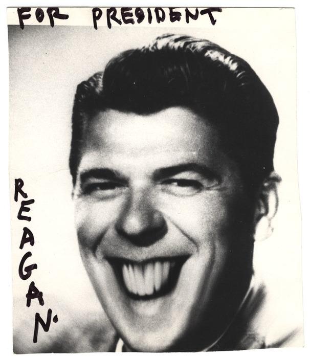 For President Reagan.