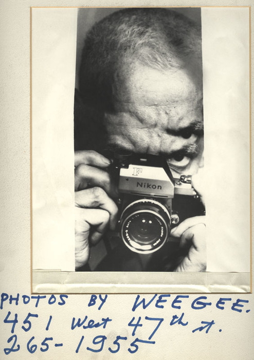 Weegee | Elizabeth Taylor distortion (ca. 1960