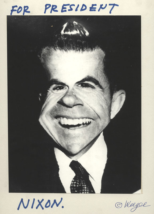 For President, Nixon (distortion)