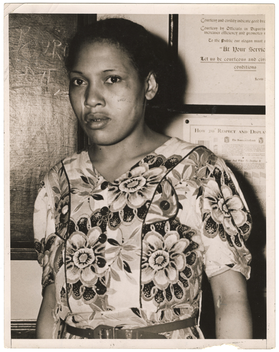 Blanche Simms Killed White Fireman in Harlem