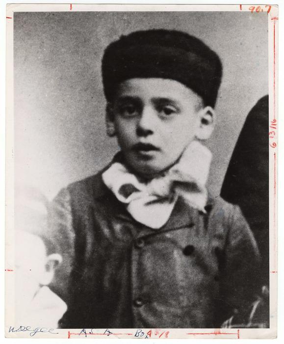 Weegee As a Boy