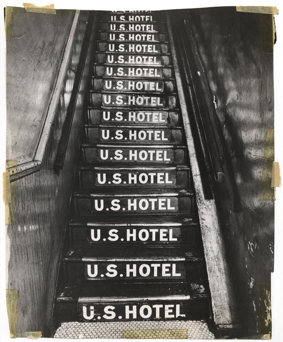 [U.S. Hotel, Bowery, New York]