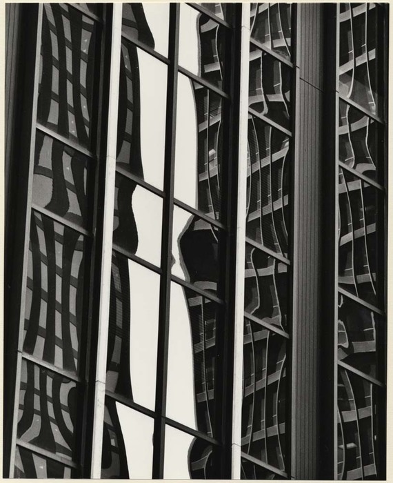 [Window reflections, New York]