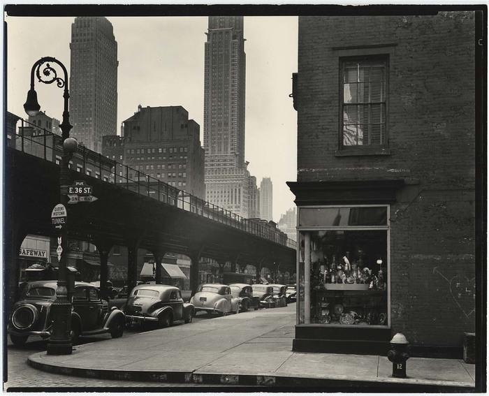[Corner of Third Avenue and 36th Street, New York]