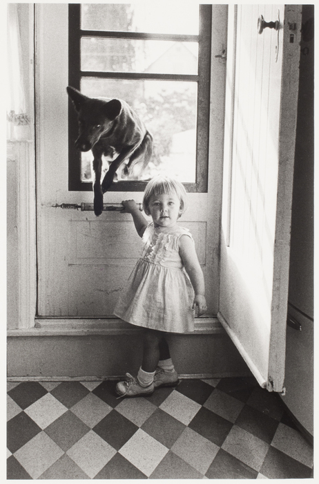 Girl and Dog, Queens, New York
