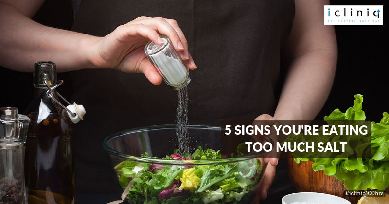 5 Signs You're Eating Too Much Salt