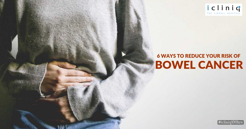 6 Ways to Reduce Your Risk of Bowel Cancer