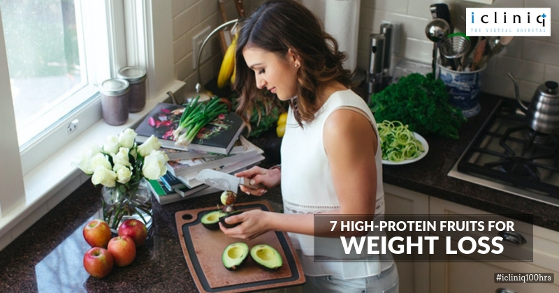 7 High-protein fruits for weight loss