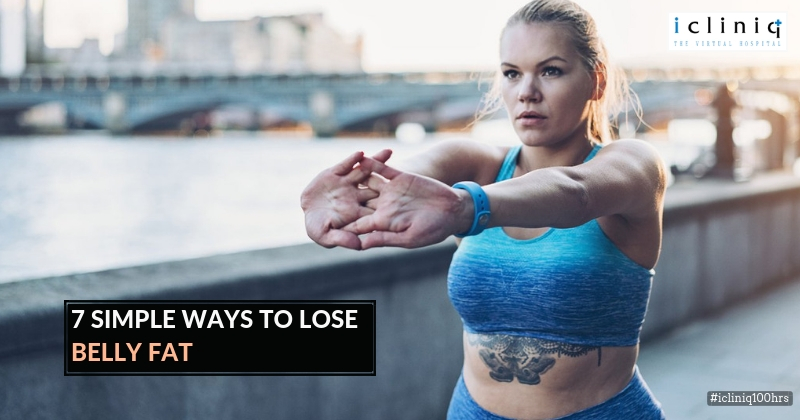 7 Simple Ways to Lose Belly Fat