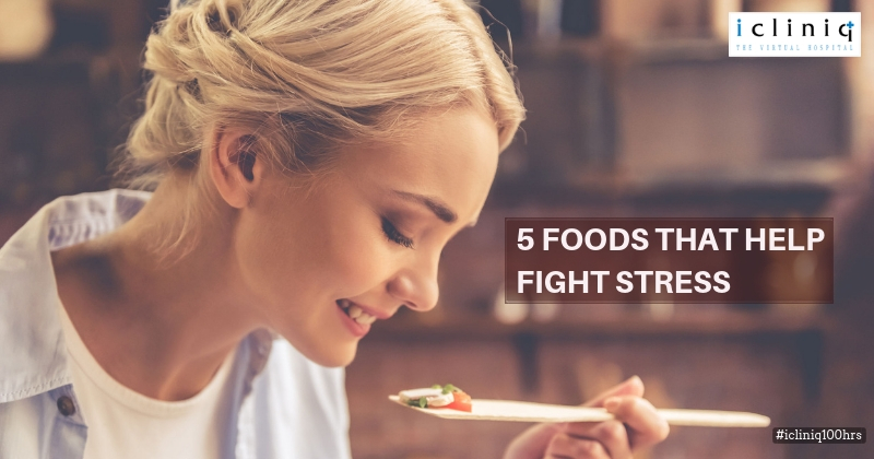 5 Foods That Help Fight Stress