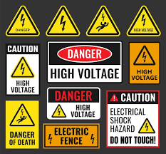 Picture This! An Electrifying Warning Sign