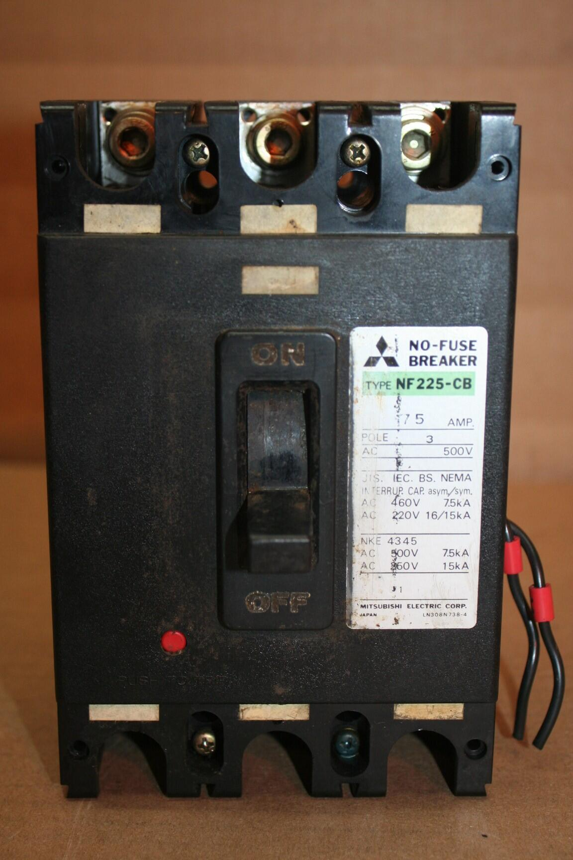 Mitsubishi Nf225 Cb 75 Ideal Machinery Inc Technical Amplifier Circuit 20752