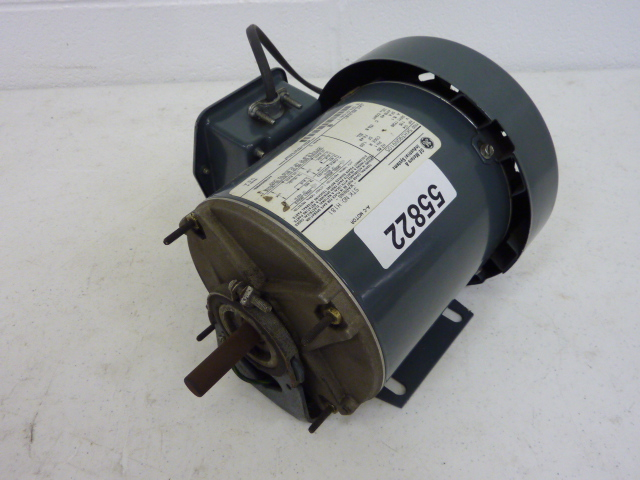 Used Ge 1 4 Hp Electric Motor 1100 Rpm 460 Volt Single