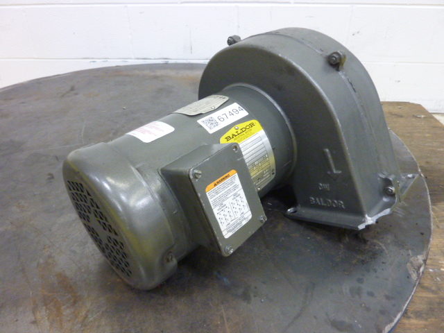 Baldor vm35455060 ideal machinery inc for Baldor industrial motor parts