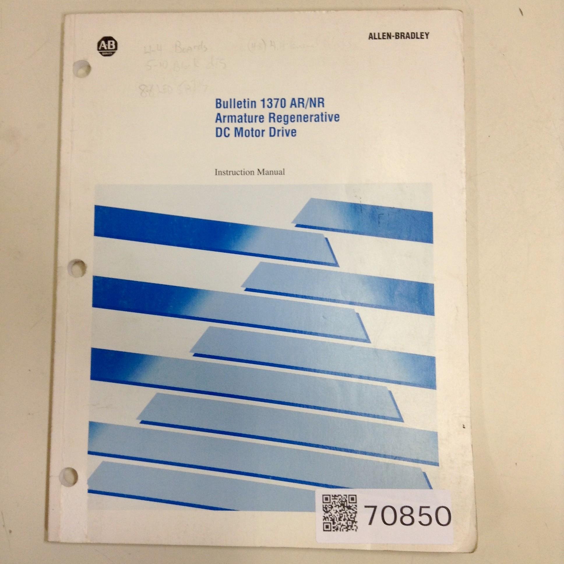 Allen Bradley 1370-5.0.8