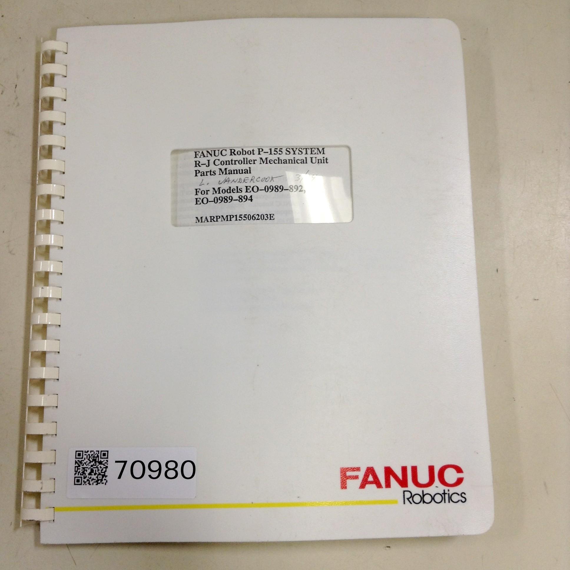 Fanuc Robot controller Manual