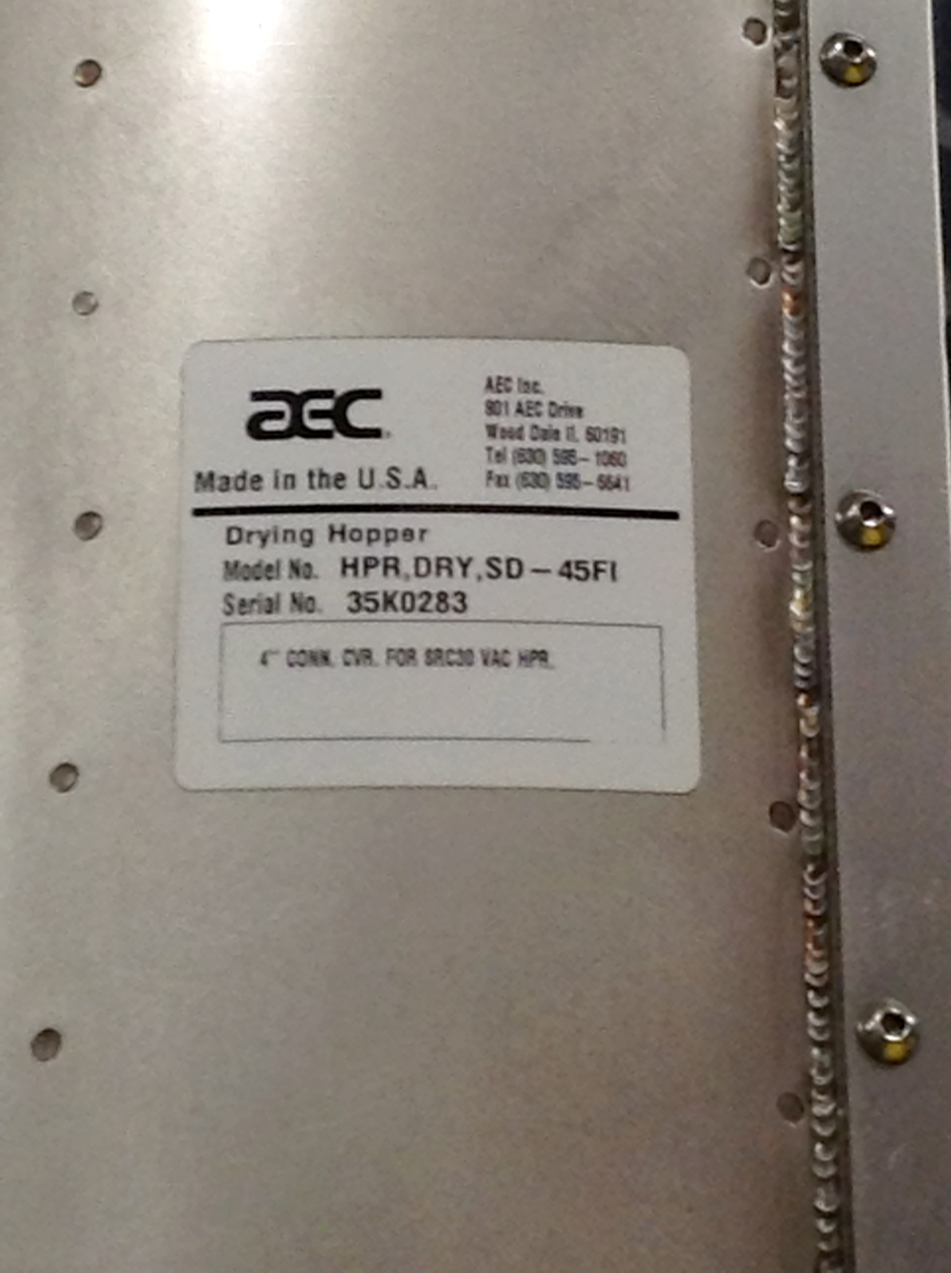 Aec HPR.DRY.SD-45FI
