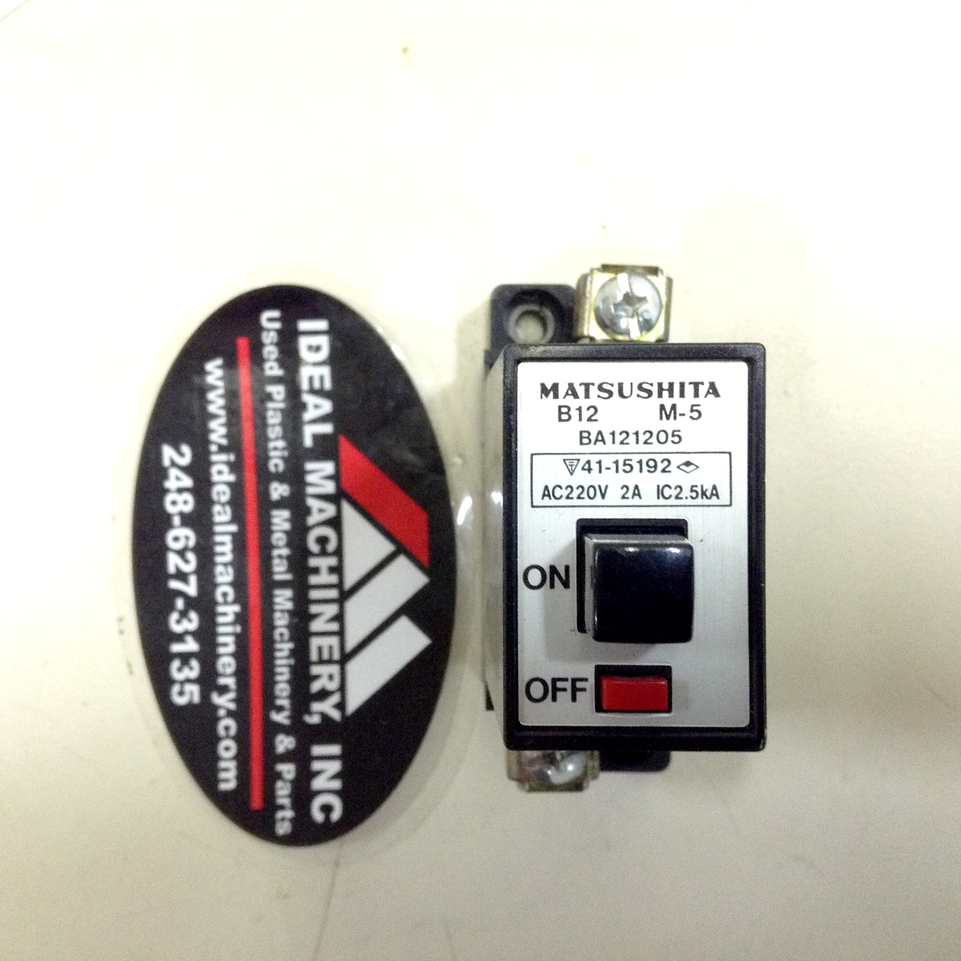 Matsushita Electric B12 M-5