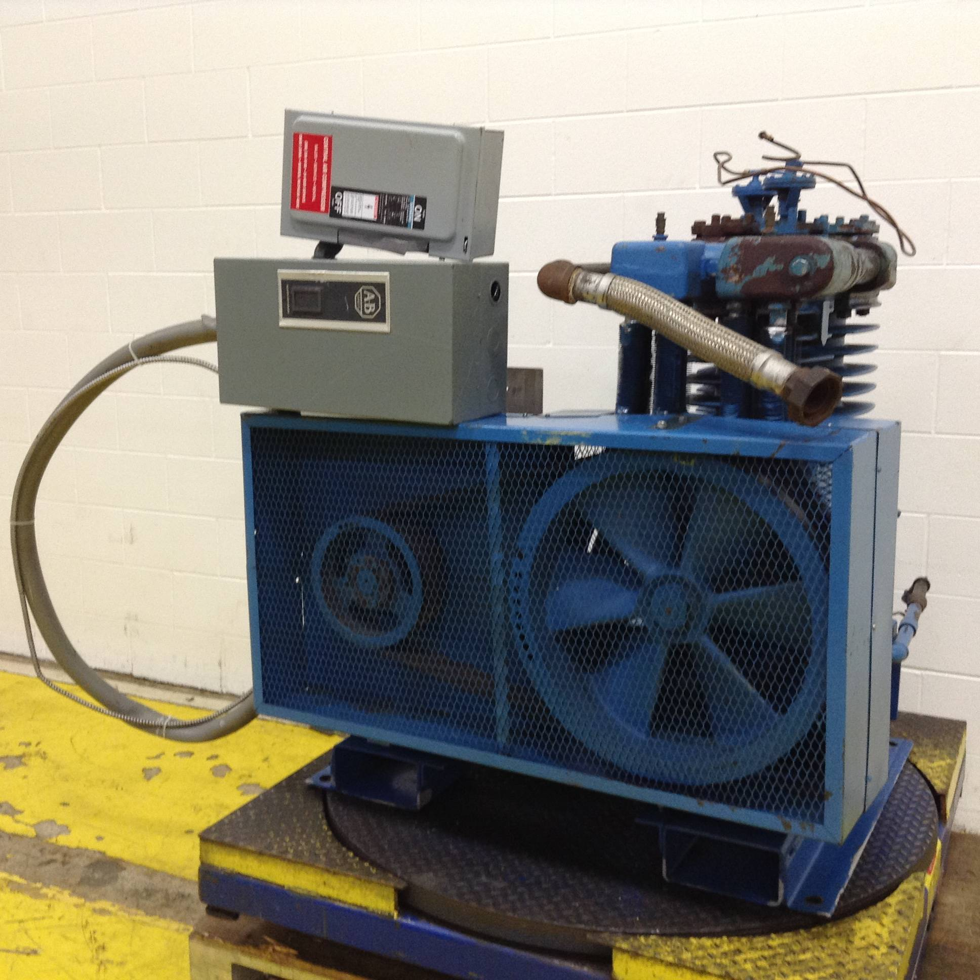 Curtis toledo compressor868 ideal machinery inc for Castellano electric motors inc