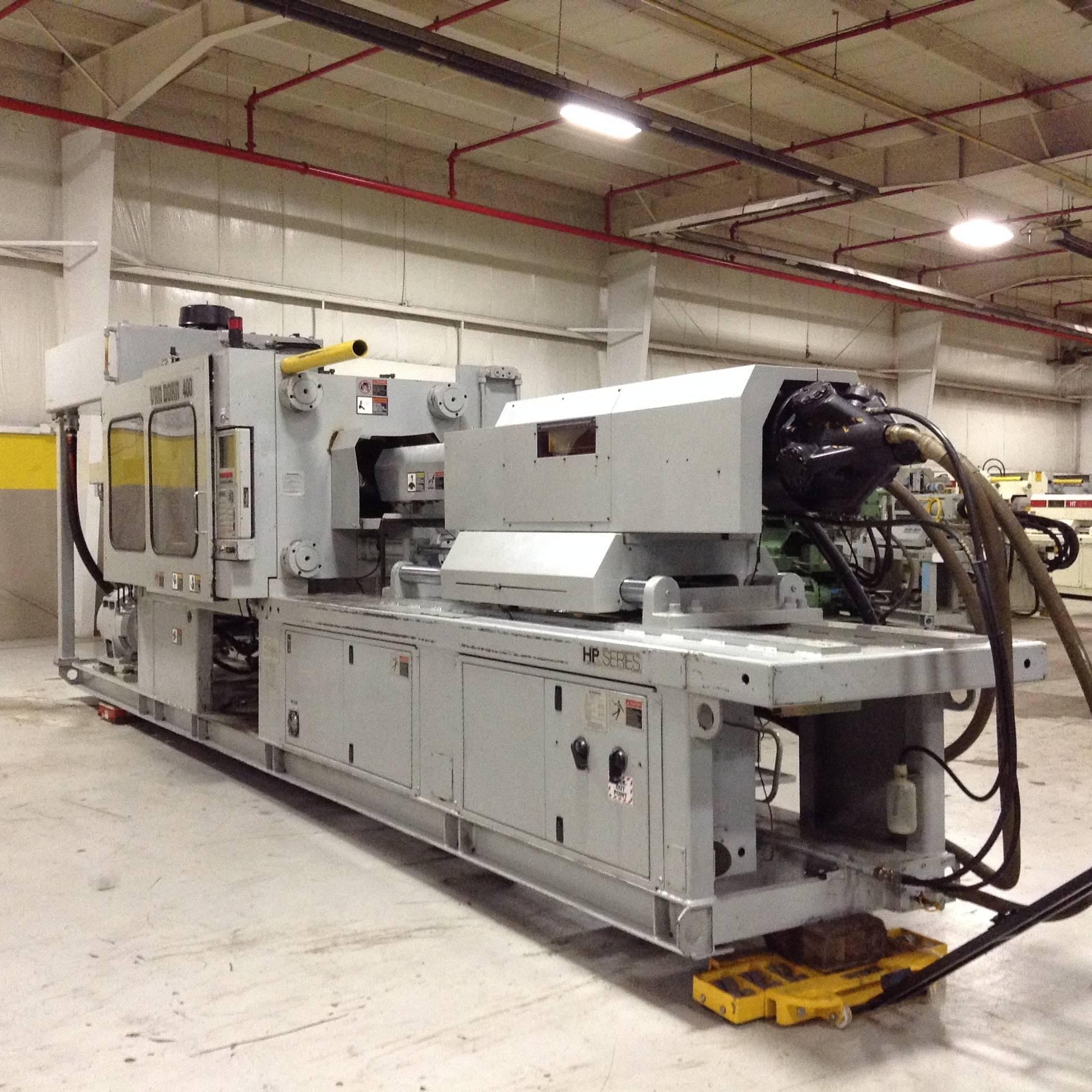 Van Dorn Demag 400 Ton Injection Molding Machine 400hp1220