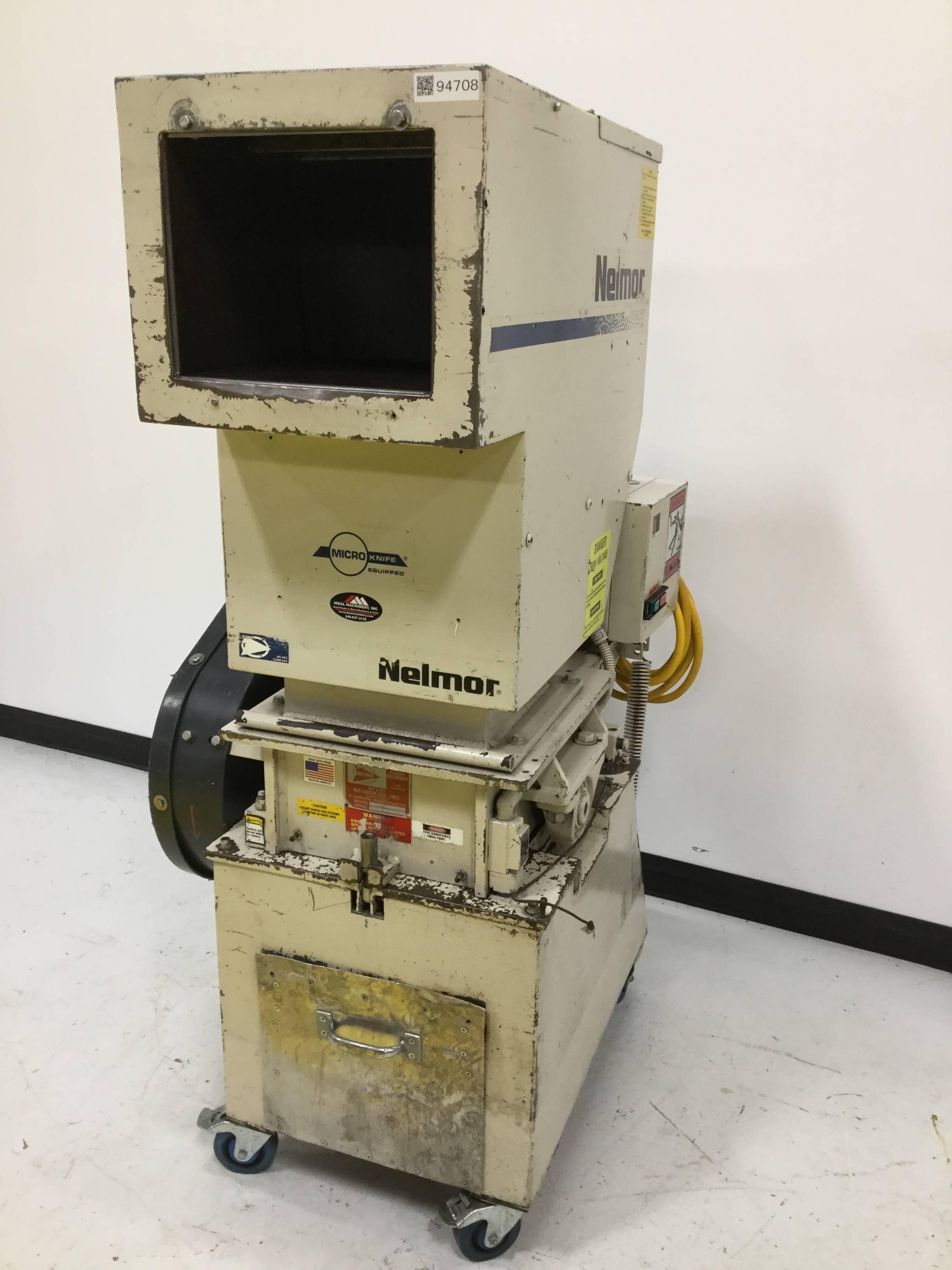 Nelmor model g2045hd (75) horse power granulator international.