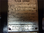 Westinghouse 1470601-A