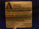 Analytic Systems Laboratories FPRS 40 ABH