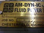 Am-dyn-ic Fluid Power Inc. 25X4X1 WJ4
