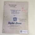 Taylor Dunn 51116