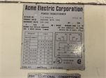 Acme Electric T-1-53014-4