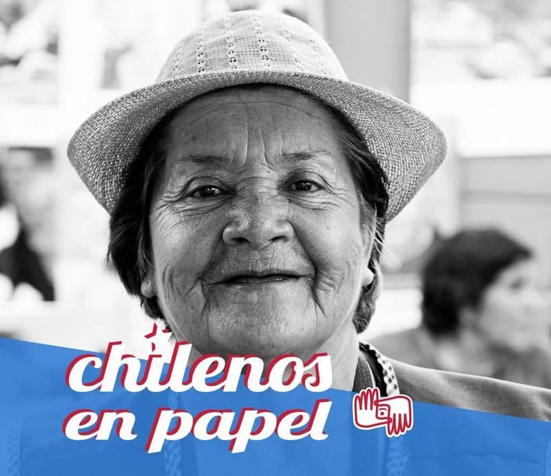Chilenos en Papel