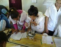 Laboratorio para escuela rural