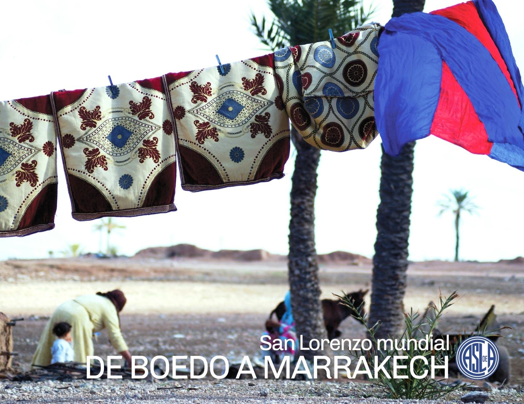 De Boedo a Marrakech!