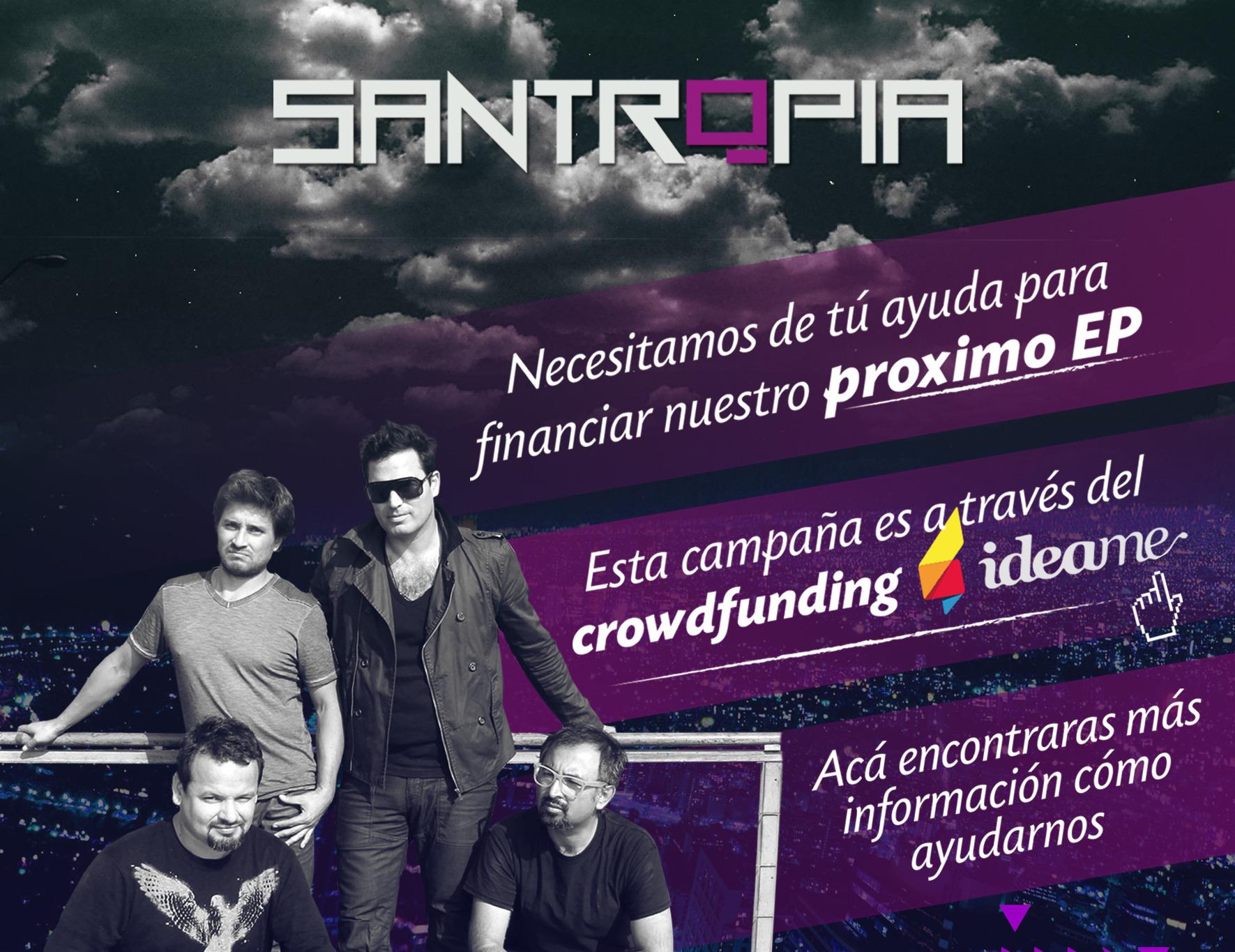 Lanzamiento EP de Santropia
