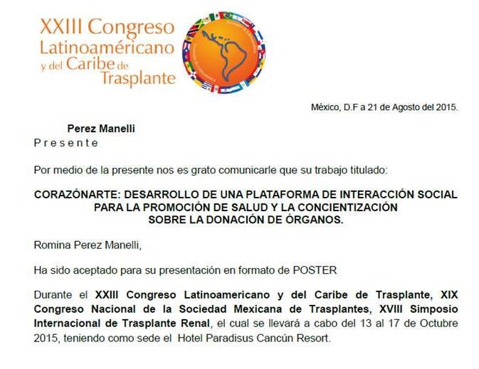 CorazonArte CongresoTrasplante