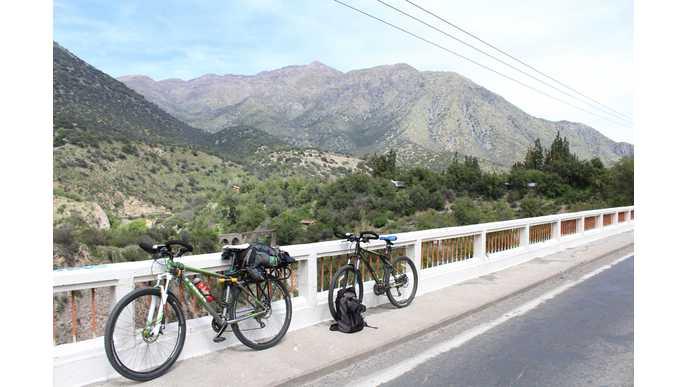 Recorriendo Chile en bicicleta