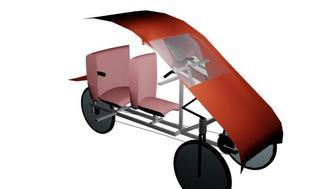 Triciclo a Pedal y Electrico