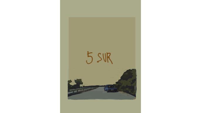 5 Sur, a graphic novel.