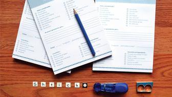 Shtick formulario de expresión