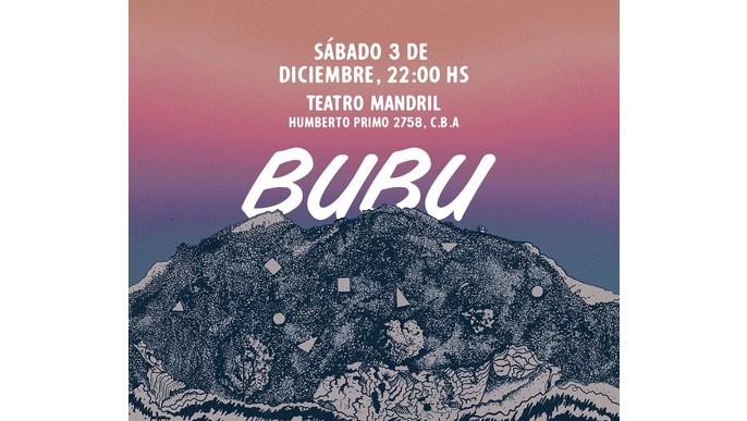 Nuevo disco de BUBU