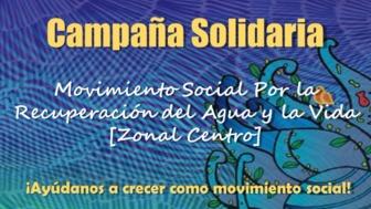 Campaña Solidaria MSRAV-ZC