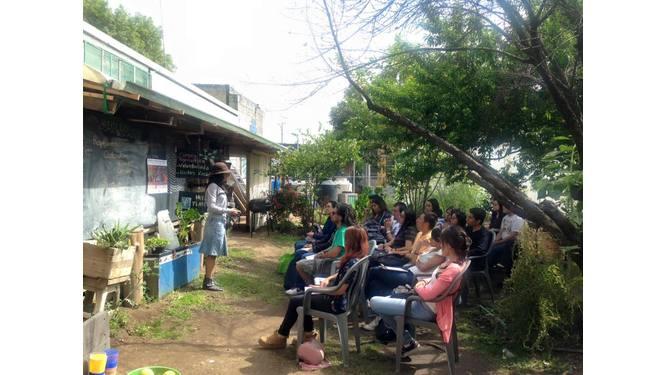 Salón-cocina Huerto Tlatelolco