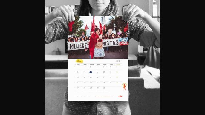 Calendario Feminista 2017