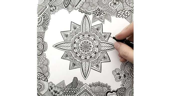 Desafío Zentangle