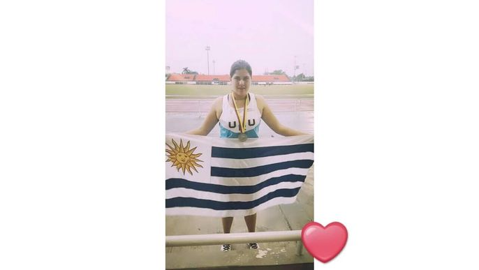 Deportista a Sudamericano.