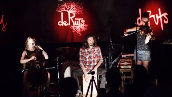 deRuts // Grabación de disco