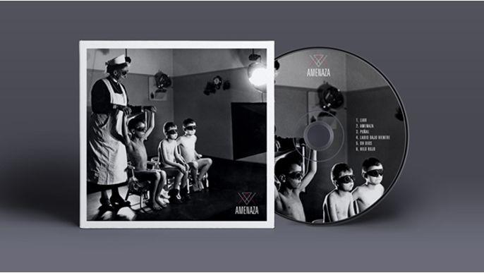 Grabación Primer EP de AMENAZA
