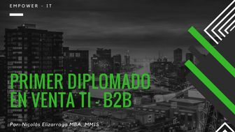 Diplomado para venta TI - B2B